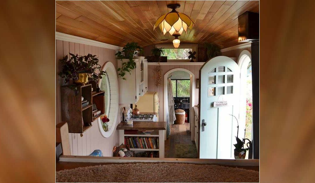 This Couple's Tiny Home Will Have You Missing School