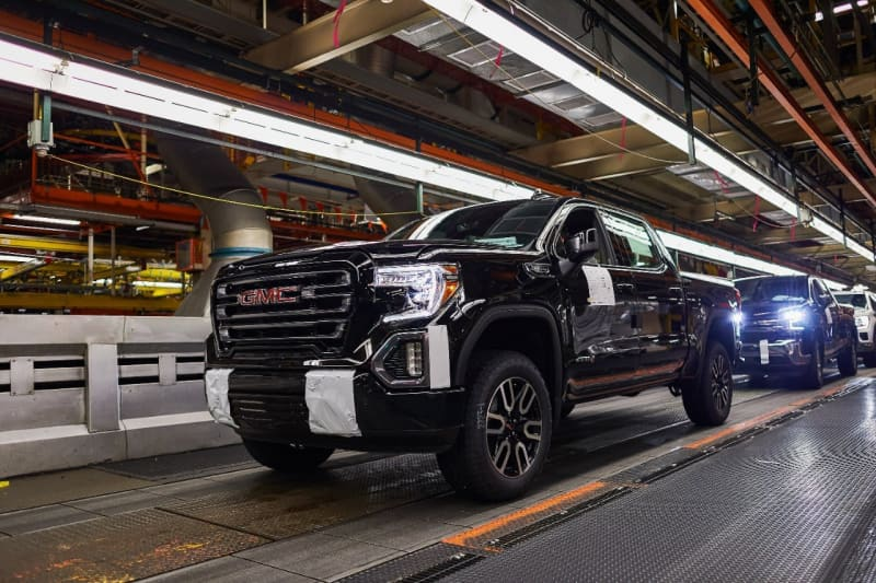 GM TRUCK PRODUCTION LARGELY HALTED FOR NEXT 10 DAYS