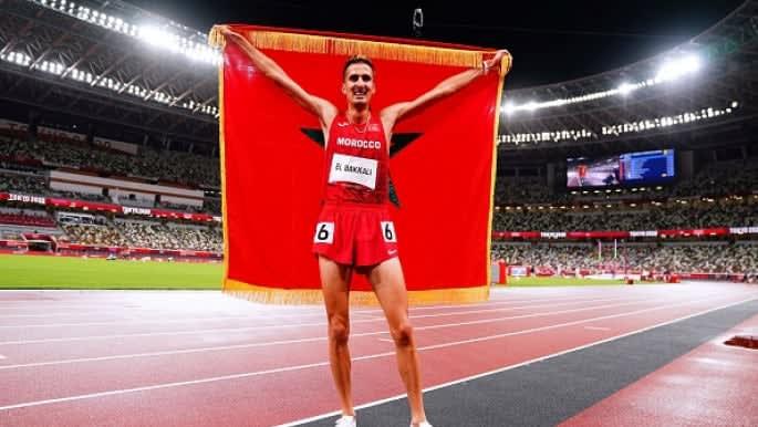 Morocco's Soufiane el Bakkali wins Olympic 3000m steeplechase gold