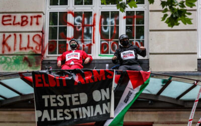 Palestine Action 'shuts down' Israeli arms firm's London HQ