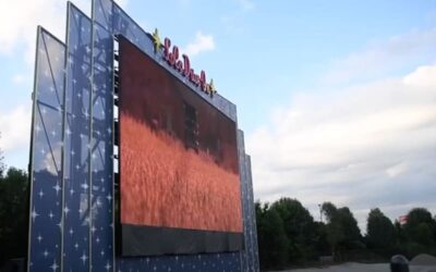 Nation's First Daytime Drive-In Movie Theater Opens