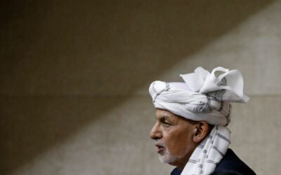 Ashraf Ghani: departing Afghan president who failed to make peace with Taliban