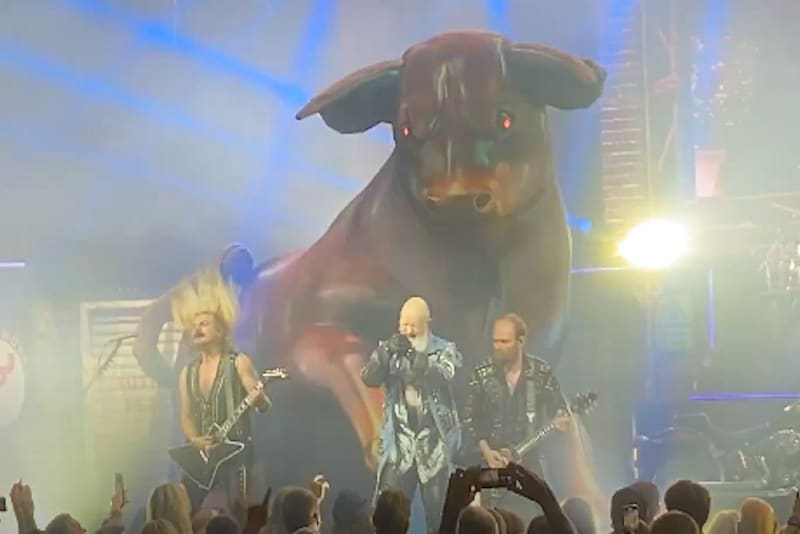 Rob Halford Explains Why Judas Priest Have Giant Bull Onstage