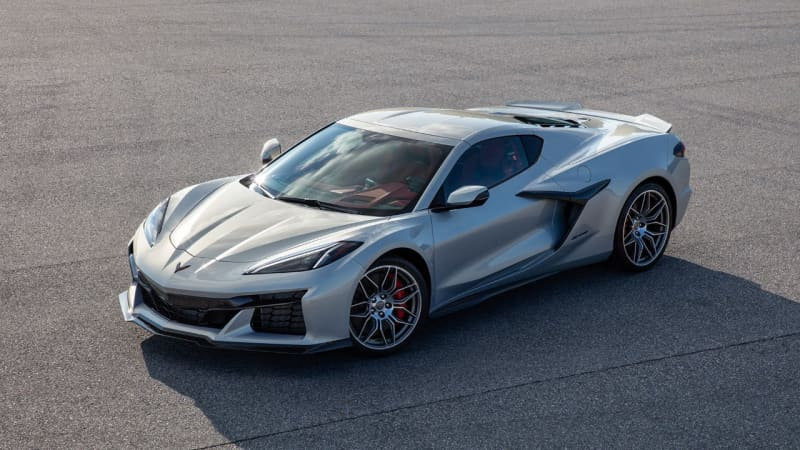 2023 CORVETTE Z06 SPOTTED DURING PHOTO SHOOT IN PITTSBURGH