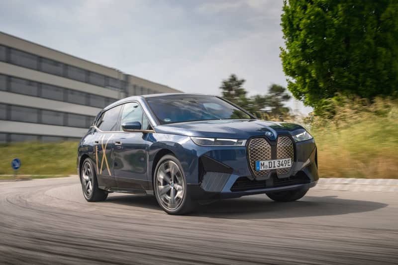 BMW iX highway take a look at:What makes this all-electric SUV so other